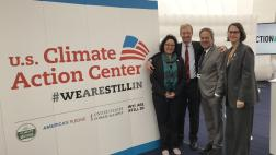 Assemblymember Bloom with Tom Steyer and other members of the CA delegation