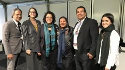The CA delegation with Brazilian indigenous leaders