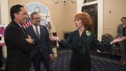 Kathy Griffin with Assemblymembers