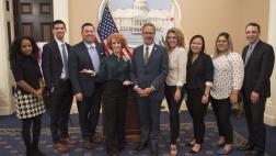 Kathy Griffin, Asm. Bloom and staff